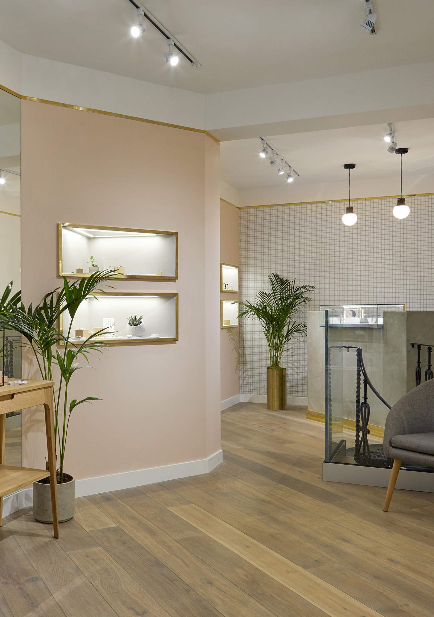 House of Sylphina commercial interior design for Astrid and Miyu flagship, London.